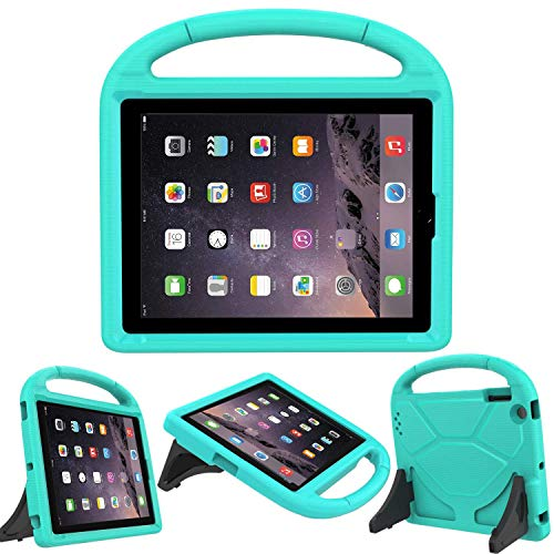 LEDNICEKER Kids Case for iPad 2 3 4 - Light Weight Shock Proof Handle Friendly Convertible Stand Kids Case for iPad 2, iPad 3rd Generation, iPad 4th Gen Tablet - Turquoise