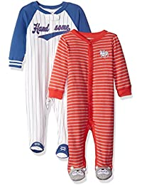Carter's Boys' Cotton Sleep and Play (Pack of 2)