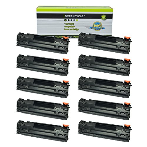 GREENCYCLE 10 Pack Replacement CRG137 Toner Carrtidge for Canon 137 C137 ImageClass MF212w ImageClass MF227dw Laser Printer
