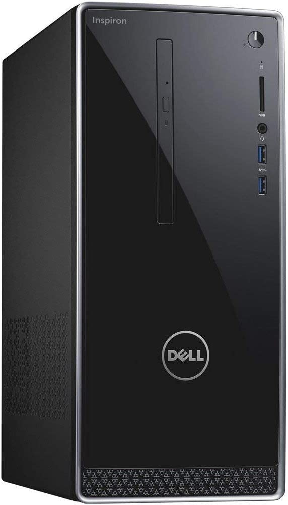 Dell Inspiron High Performance Desktop PC with Intel i7 (Upto 4.2GHz), 16GB DDR4 RAM, Nvidia GTX 1050 Graphics,128GB SSD+1TB HD Windows 10 Pro (Renewed)