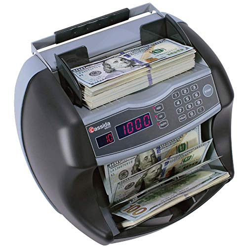 - Cassida 6600 CF Detection Business Grade Currency Counter