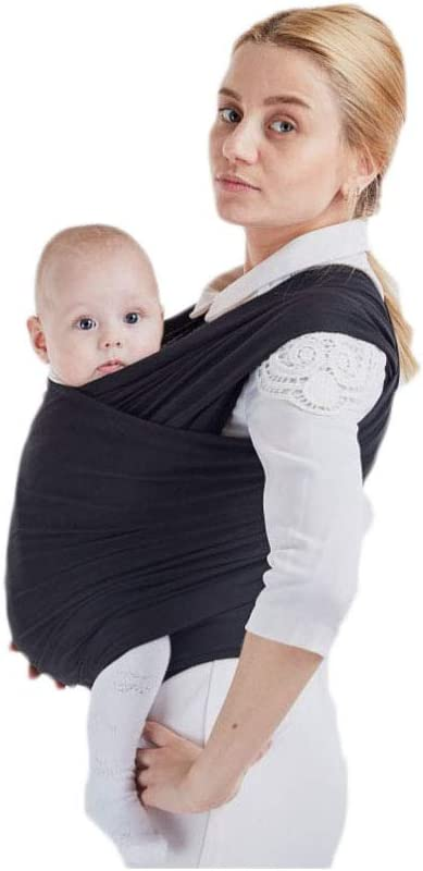 0.58Mx5.3M Algod/ón suave y Comfort Spandex para beb/és reci/én dentro de los 16 KG Ideal para lactancia materna M/étodo de espalda multifuncional AniKigu Fular Portabeb/és Regalo para la nueva mam/á
