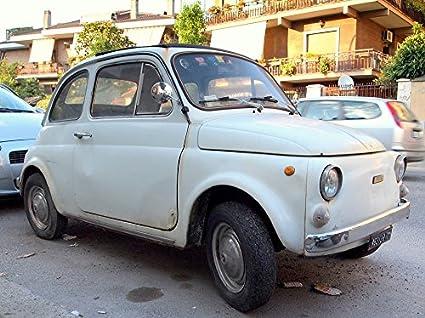 Amazon Com Home Comforts Canvas Print Old Car Rome Fiat 500 Fiat
