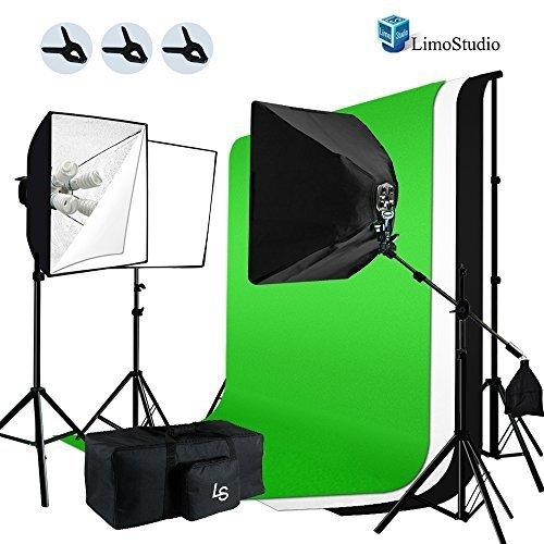 LimoStudio 2400W Lighting Studio Chroma