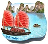 Halong Bay Hanoi Vietnam, High Quality Resin 3d Fridge Magnet
