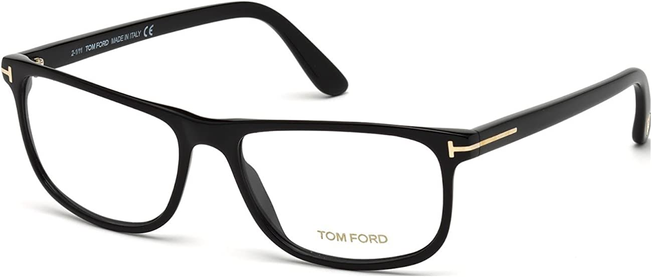 Tom Ford Rx Eyeglasses - TF5356 Blue / Frame only with demo lenses.-TF535608757FR