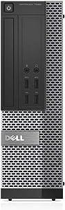 Dell OptiPlex 7020-SFF, Intel Core i5-4590 3.3GHZ, 8GB RAM, 1TB Hard Drive, DVDRW, Windows 10 Pro 64bit (Renewed)