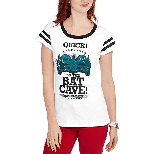 DC Comics Batman Juniors To The Batcave Graphic Hockey Tee - Dc Shopping Malls