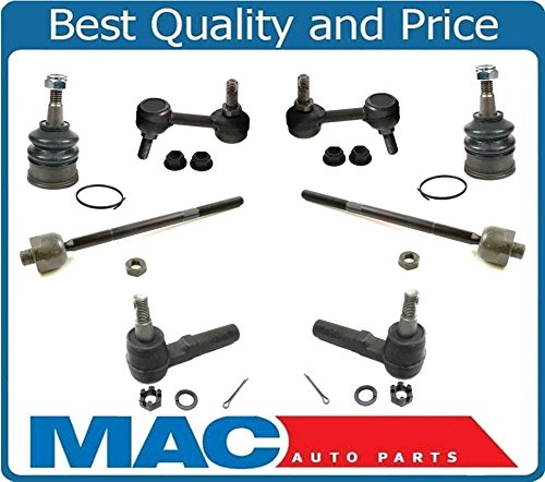 97-05 CORVETTE & Z06 4 Tie Rod Ends Lower Ball Joints Sway Bar Links 8Pc