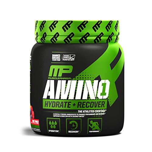 MusclePharm Amino 1 Sport Nutrition Powder, Fruit Punch