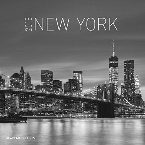 """Calendario Da Muro """"New York"""" 2018 30X30 Cm"""