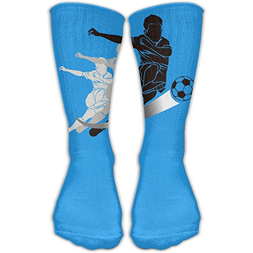 YUANSHAN Socks Football Trail Women & Men Socks Soccer Sock Sport Tube Stockings Length 11.8Inch