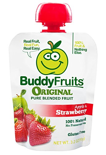 Buddy Fruits Strawberry 3 2 Ounce Packages product image