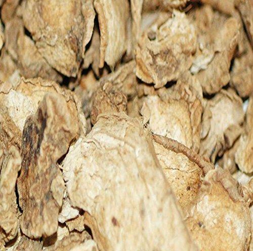 Indus Organics Ginger Slices, 1 Lb Bag, Sulfite Free, Premium Grade, High Purity, Freshly Packed (Slices Ginger)
