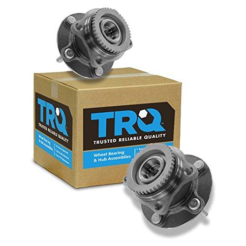 (TRQ 2WD Rear Wheel Hub & Bearing Pair for 04-11 Endeavor)