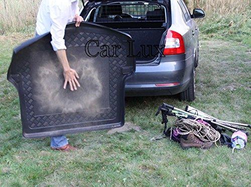 Car Lux AR00783 Alfombra Bandeja Cubeta Protector cubre maletero a medida para X5 E53