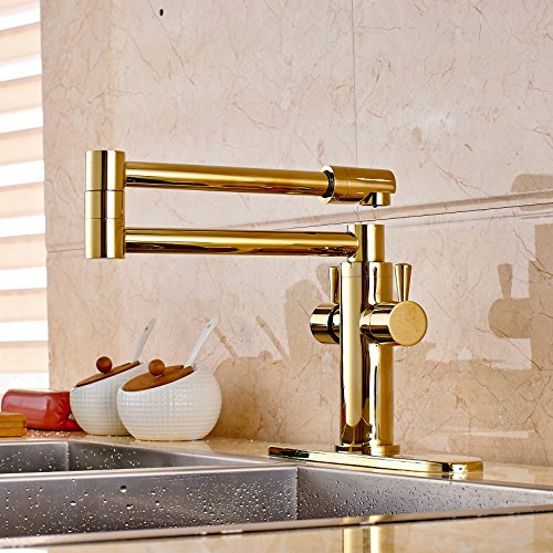 Pot Filler Gold Faucets Price Compare