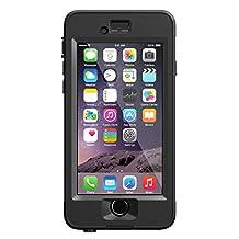 """LifeProof NUUD iPhone 6 ONLY Waterproof Case (4.7"""" Version) - Retail Packaging -  BLACK"""