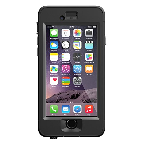 LifeProof NUUD iPhone 6 ONLY Waterproof Case (4.7″ Version) – Retail Packaging –  BLACK