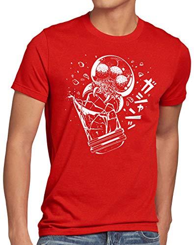 hombre Aran Hormiga Estallido para Switch Snes Samus 3ds Red Camiseta wOvTqH