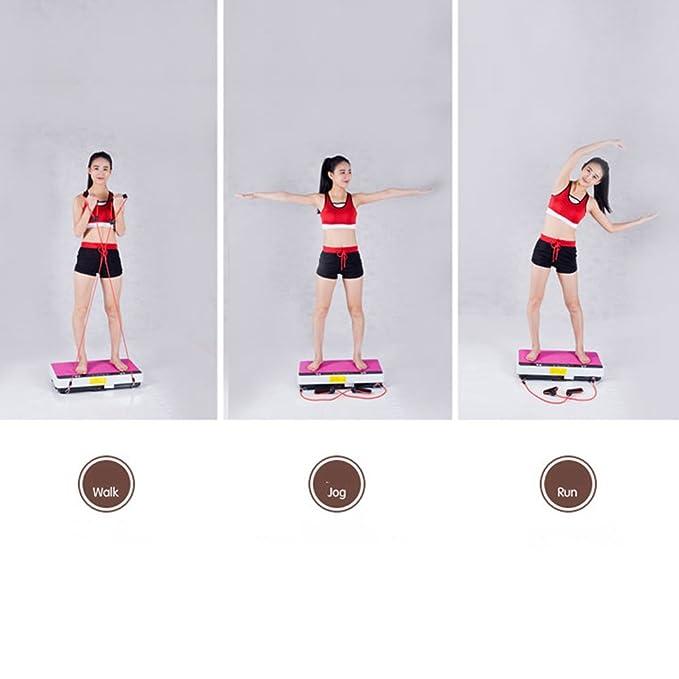 RanBow vibración plataforma fitness Machine, plataforma ejercicio y ...