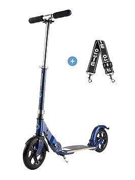 Micro SA0038 Flex 200mm - Patinete para Adultos, Azul