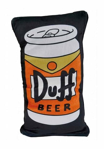 The Simpsons - Cojín reversible - Duff Beer: Amazon.es: Hogar