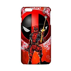 Cool-benz Red cloth deadpool 3D Phone Case for iPhone 6 plus
