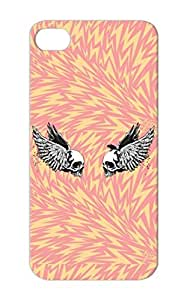 White Rock Metal Wings Awesome Music Skulls For Iphone 5/5s Inner Conflict TPU Case