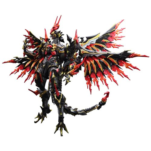 (Square Enix Final Fantasy Variant Play Arts-Kai-Bahamut PVC Figure)