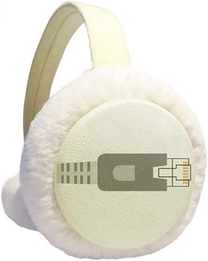 I Am The Cutest Girl Winter Earmuffs Ear Warmers Faux Fur Foldable Plush Outdoor Gift