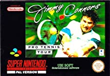 Jimmy Connors Tennis-Super Nintendo