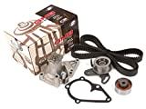 Evergreen TBK282WP 96-11 Hyundai Accent Kia Rio Rio5 DOHC 1.5 1.6 G4KF G4EC G4ED Timing Belt Kit GMB Water Pump