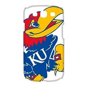 DiyCaseStore NCAA Kansas Jayhawks KU Logo Samsung Galaxy S3 I9300/I9308/I939 Best Durable Cover Case