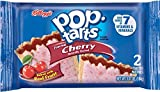 Kellogg's Pop-Tarts, Frosted Cherry, 2 Pack, 3.67 oz (Pack of 36)