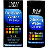water acidity test - JNW Direct Drinking Water Test Strips 10 in 1, Best Kit for Fast, Easy & Accurate Water Quality Testing at Home, 125 Strips MEGA Pack