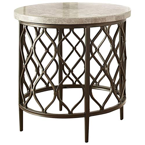 Stone Accent Table - Steve Silver Roland 24