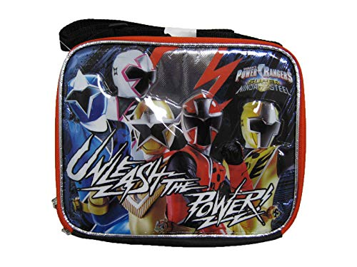 "Power Rangers - Unleash the Power! Lunch Bag 8"" x 10"" - ToysZone.biz"
