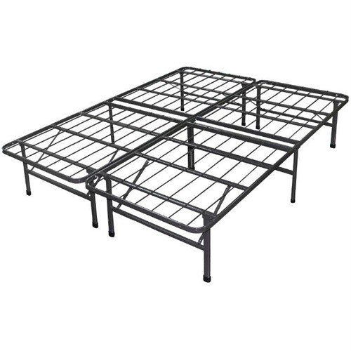 Best Price Mattress New Innovated Box Spring Platform Metal Bed Frame / Foundation, California King by Best Price Mattress