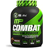 MusclePharm Combat Protein Powder - Essential blend of Whey, Isolate, Casein and Egg Protein with BCAA's and Glutamine for Recovery, Chocolate Milk, 4 Pound