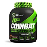 Cheap MusclePharm Combat Protein Powder – Essential blend of Whey, Isolate, Casein and Egg Protein with BCAA's and Glutamine for Recovery, Chocolate Milk, 4 Pound