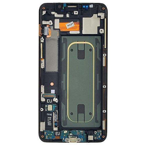 LCD, Digitizer & Frame Assembly for Samsung Galaxy S6 Edge+ (Gold) (OEM) with Tool Kit by Wholesale Gadget Parts (Image #1)