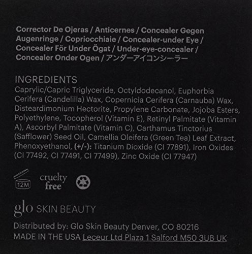 Glo Skin Beauty Under Eye Concealer - Honey - Mineral Makeup Concealer, 4 Shades | Cruelty Free by Glo Skin Beauty (Image #2)
