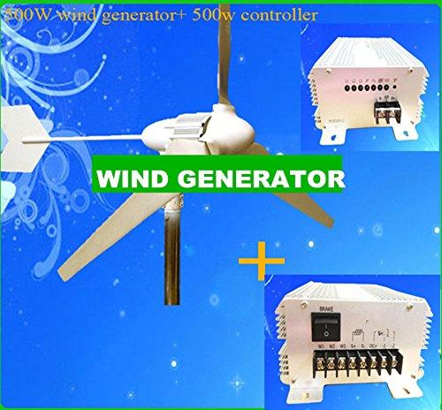 GOWE 500 W, Max power GENERATOR 600w Windrädern Wind solar hybrid-Fernbedienung für home, mit Segeln, Angeln, TV, Lüfter, Computer