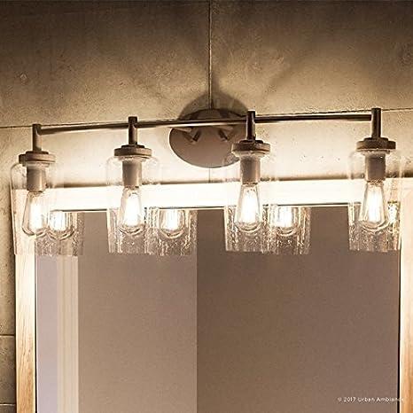vintage vanity lighting. Luxury Vintage Bathroom Vanity Light, Large Size: 10\u0026quot;H X 32.5\u0026quot;W Lighting I