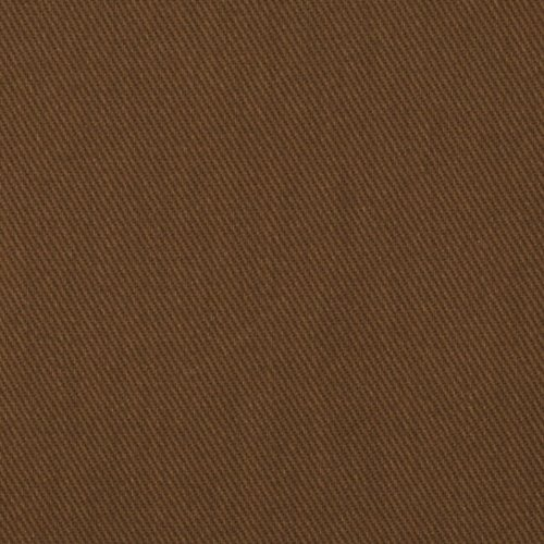 Carr Textile UL-872 9 oz. Brushed Bull Denim Brown Fabric by the Yard ()