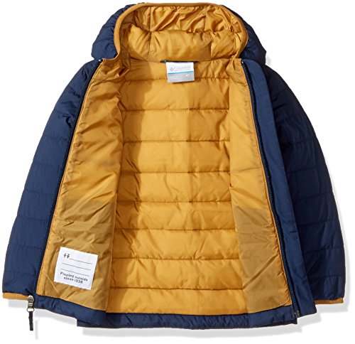 Navy Powder Lite Collegiate Columbia Puffer Boys' Jacket qOYUYw