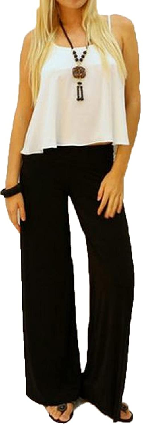 MLG Women's Baggy Workout Solid Color Casual Long Trousers