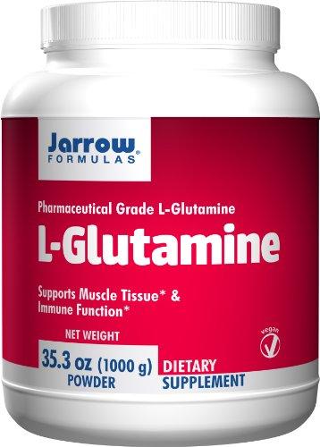 Jarrow Formulas L Glutamine Powder TRIPLE