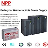 NPP 12V 8 Ah 12Volt 8 amp Rechargeable Sealed Lead Acid Battery for APC Back-UPS ES 550VA Back-UPS Pro 1300/1500 Liftmaster CSL-24VDC Slider Gate Opene F2